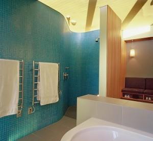 Bathroom tiling masterpiece